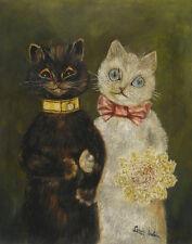 Wain Louis Bride And Groom Print 11 x 14    #3836