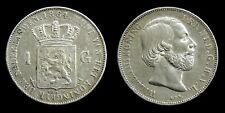 Netherlands - 1 Gulden 1864 Zeer Fraai+
