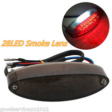 Warerproof 28LED Motorcycle ATV Rear Brake Stop Light Tail Lamp For Honda Indian