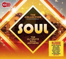 SOUL The Collection 4CD NEW Aretha Franklin Drifters Otis Redding Ben E King