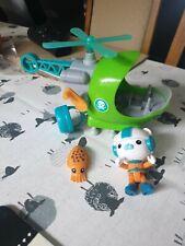 Octonauts Gup H Playset Bundle Captain Barnacles Figure & Sea Creature Toys (B9)