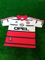 Bayern Munich 1998/2000 Soccer Vintage Adidas Away Football Shirt Jersey OPEL