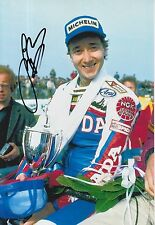 Freddie Spencer Hand Signed 12x8 Photo Honda MotoGP 3.