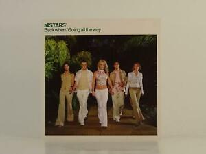ALLSTARS BACK WHEN (H1) 4 Track CD Single Picture Sleeve ISLAND