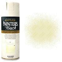 x1 Rust-Oleum Painter's Touch Multi-Purpose Spray Paint Almond White Gloss