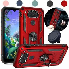 For LG Phoenix 5/Fortune 3/Risio 4/K8X Case Hybrid Armor Stand Cover+Car Holder