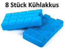 Conna Bride Kühlakkus 8x400ml Kühlelemente Kühlbox Kühltasche Thermobox Akku neu