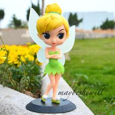 "Disney Princess Tinker Bell Action Figure Cute Version 6"" Nice Decor Toy Model"