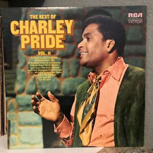 "CHARLEY PRIDE - The Best Of Vol. II (LSP-4682) - 12"" Vinyl Record LP - EX"