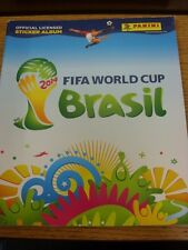 2014 World Cup 2014: Brazil - Panini Official Licensed Sticker Album, New/Unused