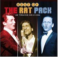 Best of the Rat Pack; 2015 2-CD Set, Crooner, Frank Sinatra, Dean Martin, Sammy