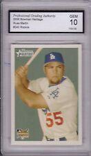 Russ Martin, 2006 Bowman Heritage (Dodgers), Rookie!!!, Gem Mint 10