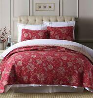 Scarlet 100% Cotton Coverlet Bedspread Comforter Bedcover Set 3pcs - Queen