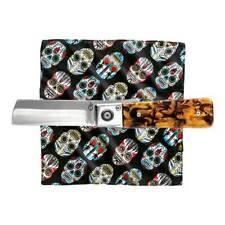 Gerber Jukebox Clip Folding knife+ Sugar Skull Hank Handkerchief Modern Kit 3998