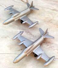 Vintage Flight of Two TootsieToy Lockheed F-94-C Starfire Jet Fighter Airplane