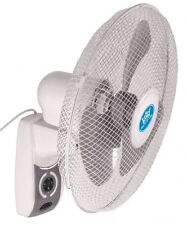 """Wall Fan 16"""" Oscillating with Remote Control and Timer Home Office"""