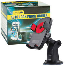 Universal Car Auto-Lock Mobile Phone Holder Windscreen GPS PDA Dashboard Mount