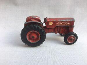 Vintage Matchbox King Size No.4 McCormick International B250 Red Tractor Lesney