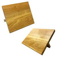 2x Magnet Messerblock Holz Magnetischer Küchenmesser Messerhalter Messer Leiste