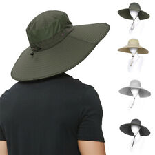 Summer Sun Hat Wide Brim Bucket Hats For Outdoor Fishing Hunting UV Protection