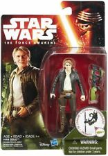 "Han Solo Hasbro 3.75"" Star Wars Force Awakens new moc nib action figure"