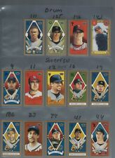 2003 TOPPS 205  T205 75 DIF ALL  MINIS W/ DRUM  CYCLE AMERICAN BEAUTY  SOVERIGHN