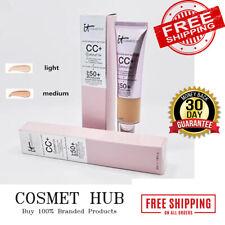 It Cosmetics Full Coverage Foundation CC+ SPF50+ Cream Medium Light Illumination