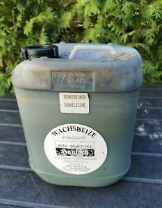 Wachsbeize Eiche dunkel - ca. 4,8 Liter - Holzbeize Beize & Wachs Holz Möbel Hol