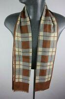 Vintage Silk Style Scarf mod dandy retro mens womens cravat foulard *1100