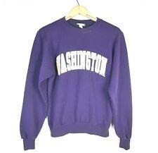 Vintage 90s Champion Washington Huskies UW Sweatshirt Size XS Small Purple