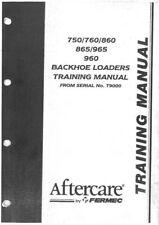 Massey Ferguson Fermec Digger Loader Backhoe 750 760 860 865 965 960 Manual