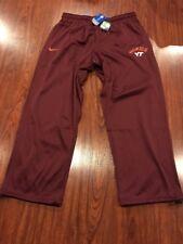 Nike Men's Virginia Tech Hokies Football Therma Fit Training Jersey Pants 4XL