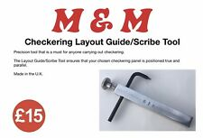 More details for checkering chequering layout guide / scribe tool