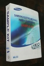Samsung Sample Book Kit Multi Layer Ceramic Capacitor MLCC 50V size: 1.6 x 0.8mm