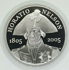 Royal Mint - 2005 Horatio Nelson Proof £5 Coin - Five Pound Crown