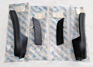 MAZDA RX3 808 SEDAN WAGON LOWER REAR DOOR SILL PLASTIC TRIM SET NOS VERY RARE