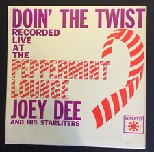 Joey Dee on Roulette R25166 – Doin' the Twist Disc E+/Cover E