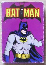 CARD GAME WHITMAN - BATMAN  - DC COMICS, 1978 - 36 CARTE NUOVE IN SCATOLA -RARE*