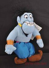 Genie Aladdin Disney Store Mini Bean Bag Plush Friend Buddy Cute Tags Blue