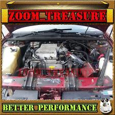 RED 1991-1993//91 92 93 BUICK REGAL ALL 3.8 3.8L V6 AIR INTAKE KIT