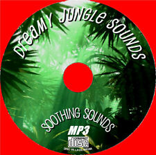 Relax to Natural Sounds of a Hot Dreamy Jungle on CD - PURE SOUNDS OF NATURE