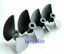 2 blade nylon propeller prop set 38 40 45 47mm p40 for electric nitro rc boat