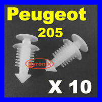 PEUGEOT 205 GTI REAR TAILGATE INTERIOR TRIM CLIPS PLASTIC FIXINGS 6996.45 X10