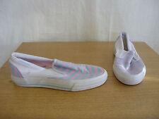 Damas Zapatos de Cubierta Converse, 6.5 Azul/Rosa Raya/Textil/Goma, algunas marcas 3337