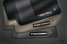 Toyota Tacoma 2007 - 2011 TRD Double Cab Charcoal Floor Mats - OEM NEW!
