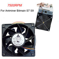 5500RPM Cooling Fan Replacement 4-pin Connector For Antminer Bitmain S7/S9/L3/T9