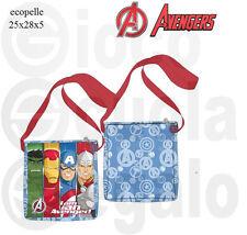 Avengers Borsa tracolla bandolera ecopelle Marvel - giocoscuolaregalo