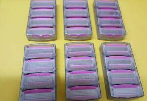 Schick Quattro Women Razor Blades Shaver Refills Cartirdges Brand New 24 count