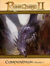 JDR RPG JEU DE ROLE / MONGOOSE RUNEQUEST II COMPENDIUM VOLUME 1 FRANCAIS