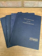 THE MANUAL OF THE FERROGRAPH SERIES 2A HARDBACK BOOK